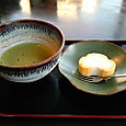 抹茶と二色玉子