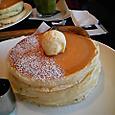 大宮コラソンのパンケーキ