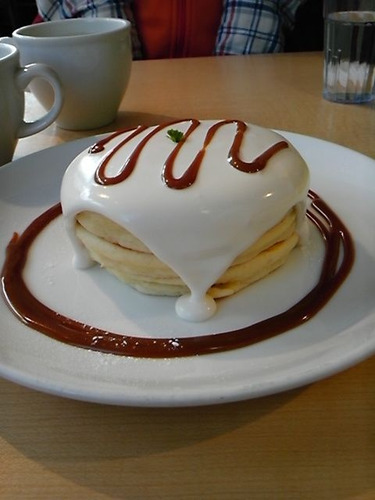 メープルクリームパンケーキ